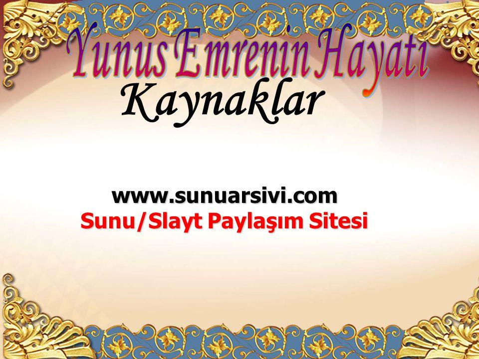 Sunu/Slayt Paylaşım Sitesi