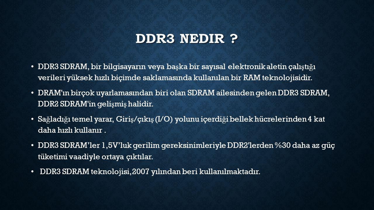 Ddr3 nedir