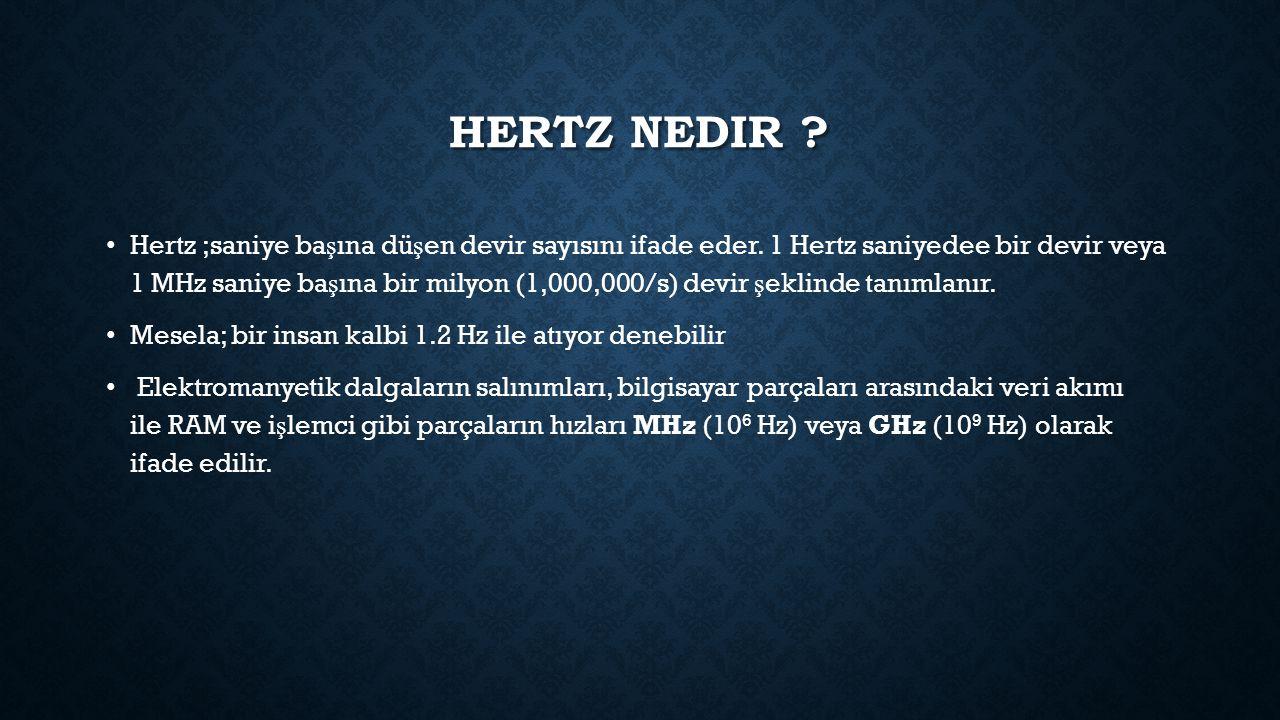 Hertz nedir