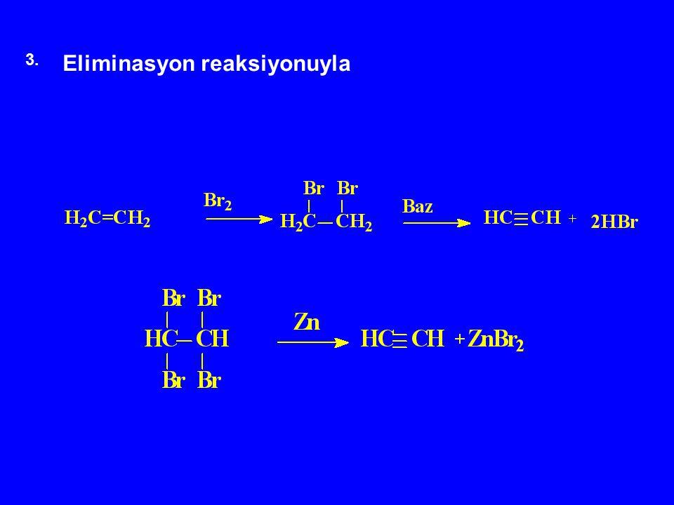 Eliminasyon reaksiyonuyla