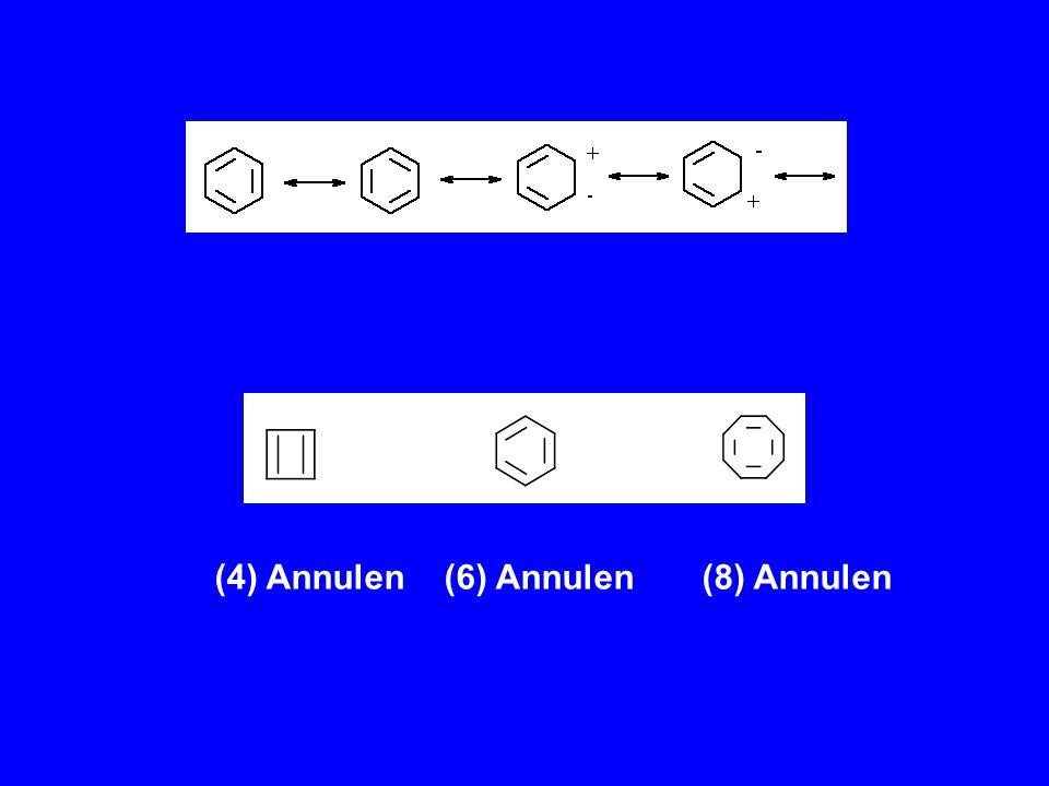 (4) Annulen (6) Annulen (8) Annulen