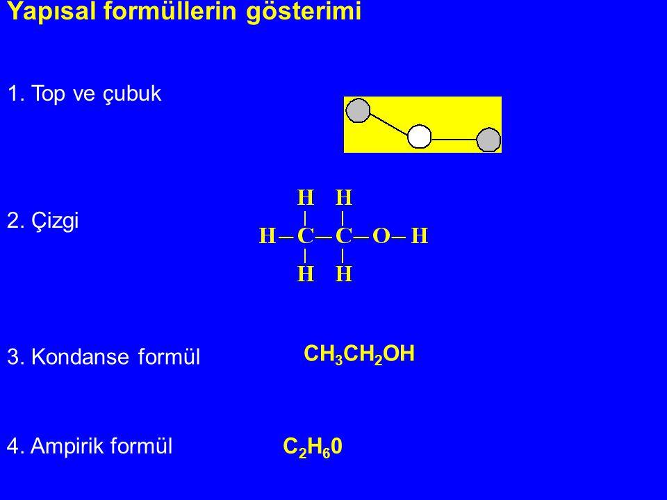 Yapısal formüllerin gösterimi