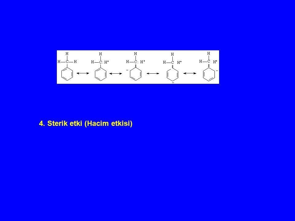 4. Sterik etki (Hacim etkisi)