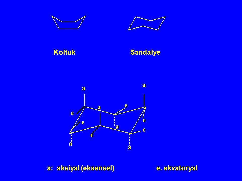 Koltuk Sandalye a: aksiyal (eksensel) e.