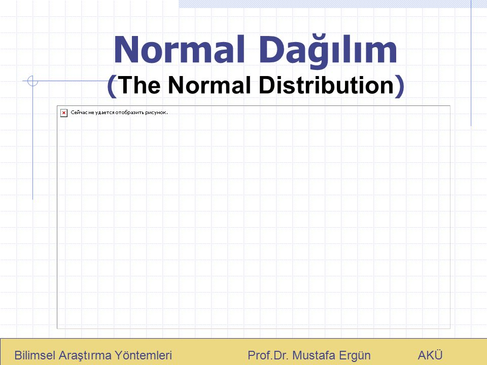 Normal Dağılım (The Normal Distribution)