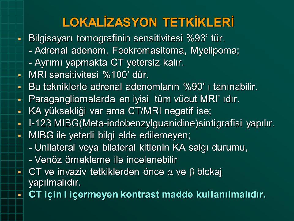 LOKALİZASYON TETKİKLERİ