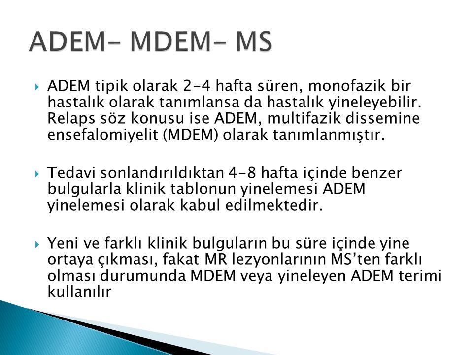 ADEM- MDEM- MS