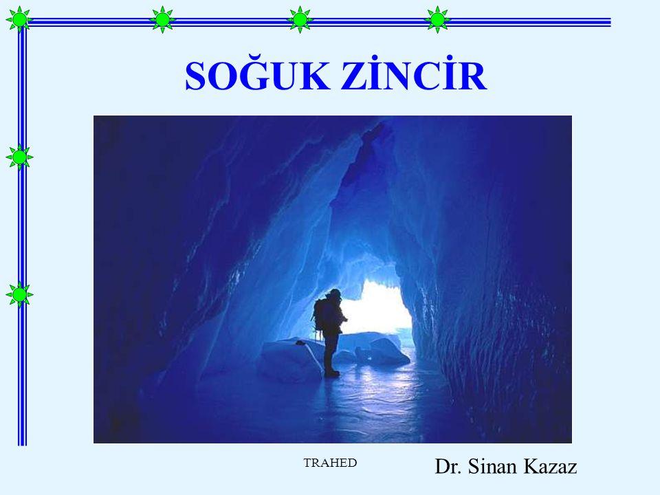 SOĞUK ZİNCİR TRAHED Dr. Sinan Kazaz
