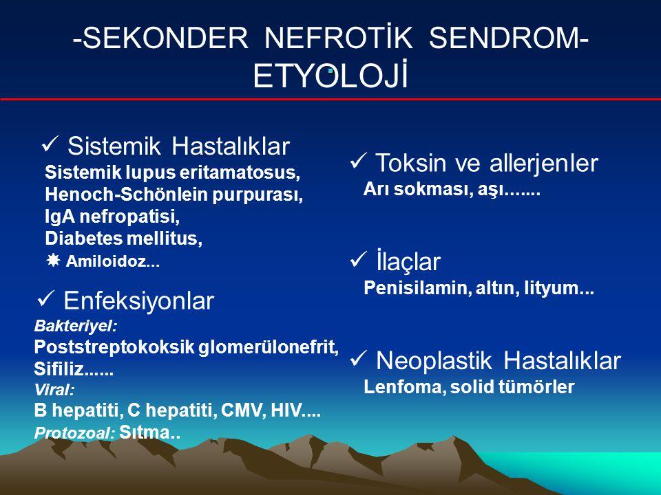 -SEKONDER NEFROTİK SENDROM-