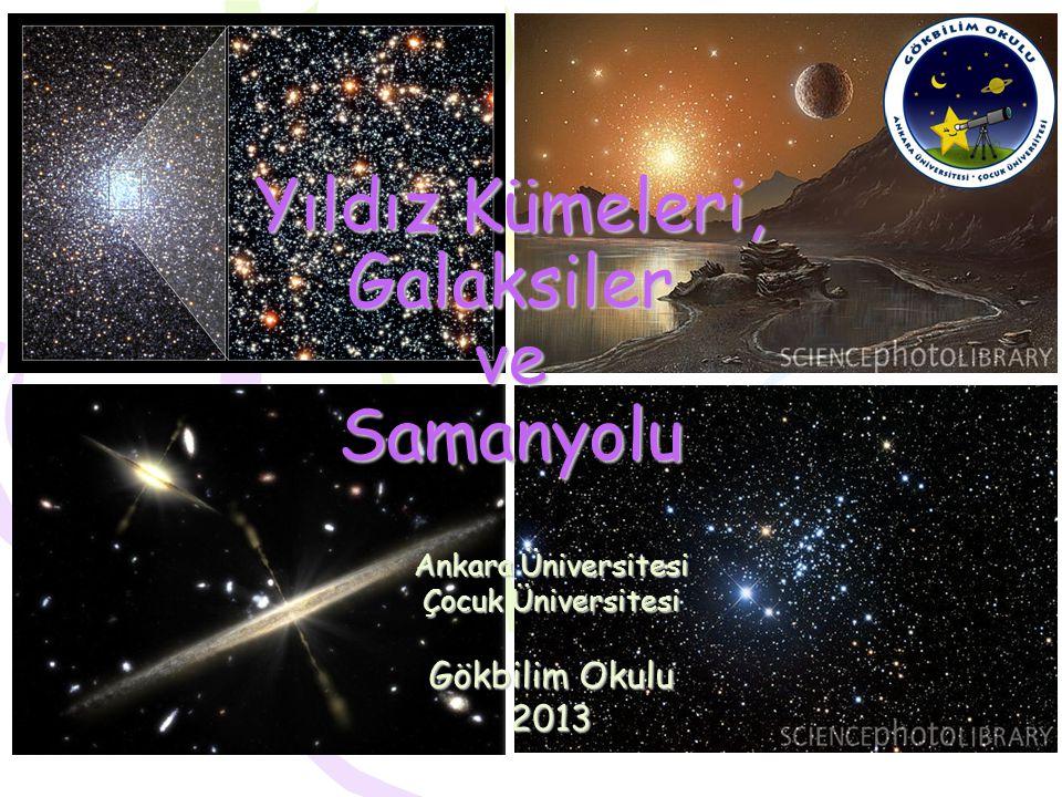 Yıldız Kümeleri, Galaksiler ve Samanyolu
