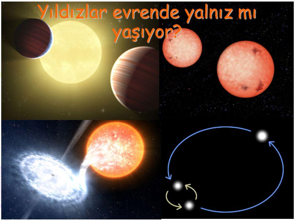Yıldızlar evrende yalnız mı yaşıyor