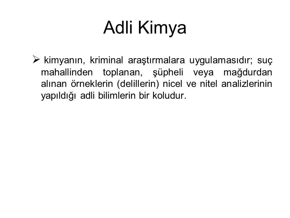 Adli Kimya