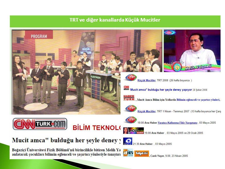 TRT ve diğer kanallarda Küçük Mucitler