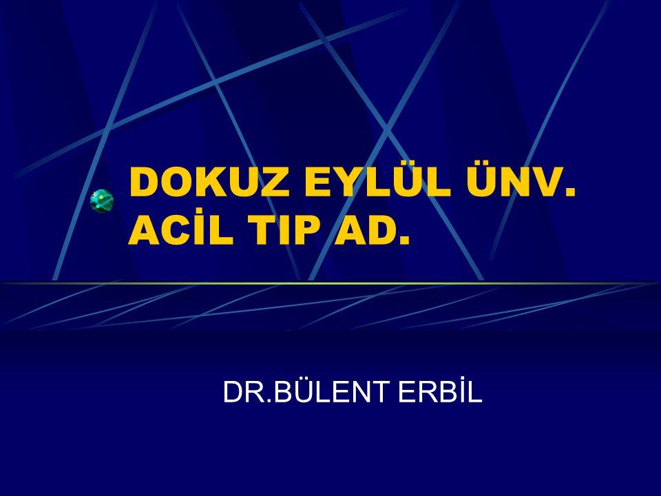 DOKUZ EYLÜL ÜNV. ACİL TIP AD.