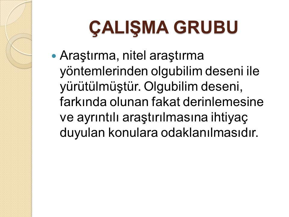 ÇALIŞMA GRUBU