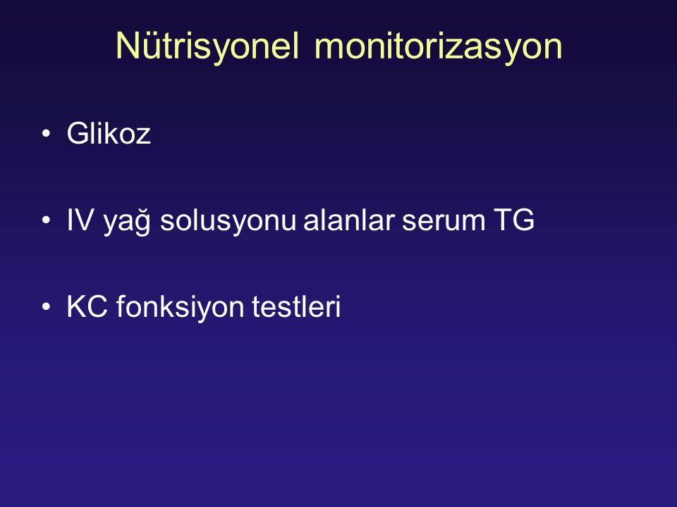 Nütrisyonel monitorizasyon