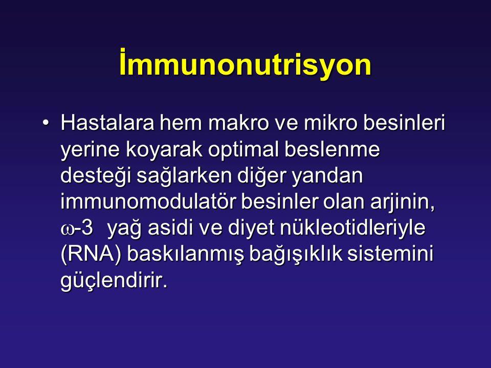 İmmunonutrisyon