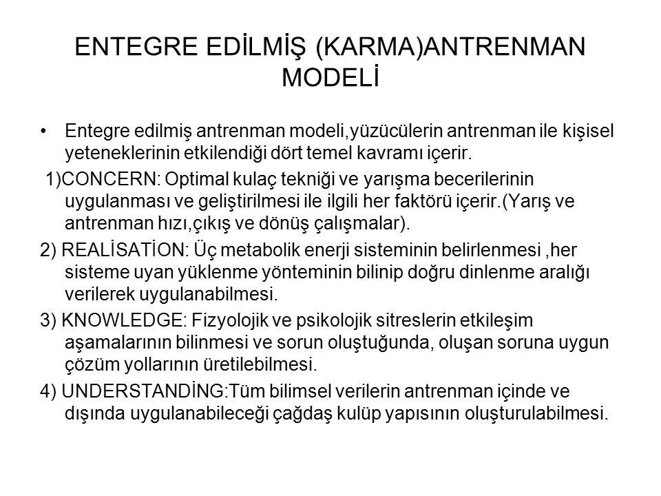 ENTEGRE EDİLMİŞ (KARMA)ANTRENMAN MODELİ
