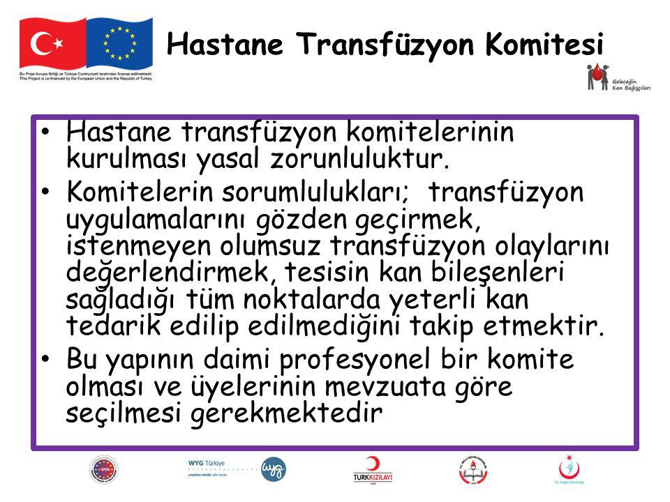 Hastane Transfüzyon Komitesi