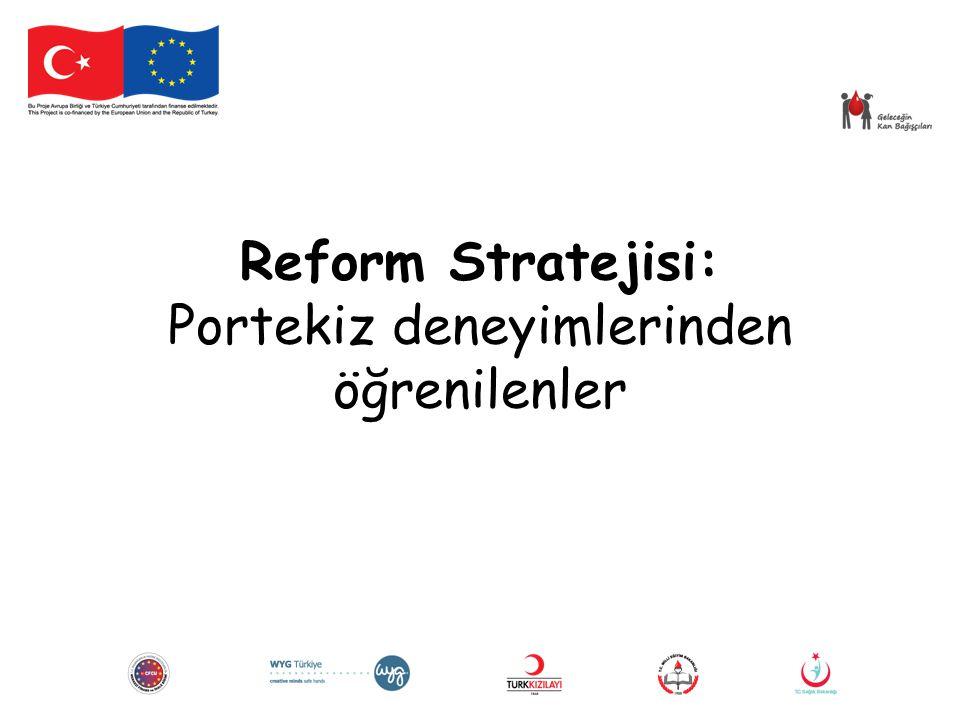 Reform Stratejisi: Portekiz deneyimlerinden öğrenilenler