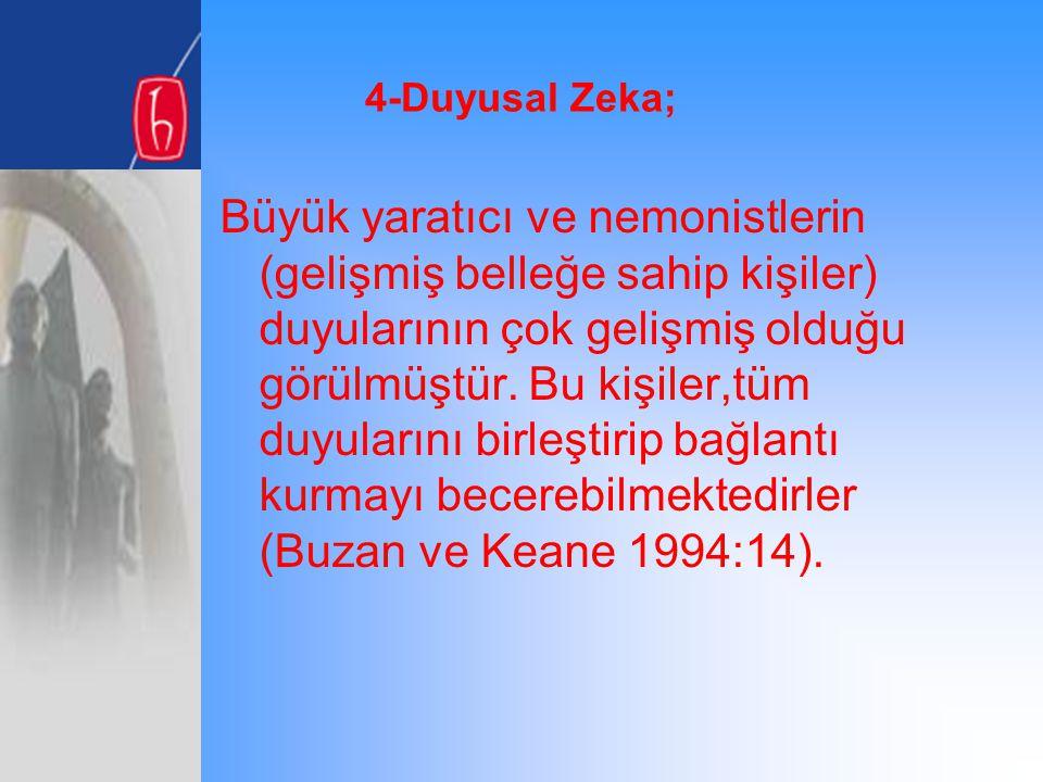 4-Duyusal Zeka;