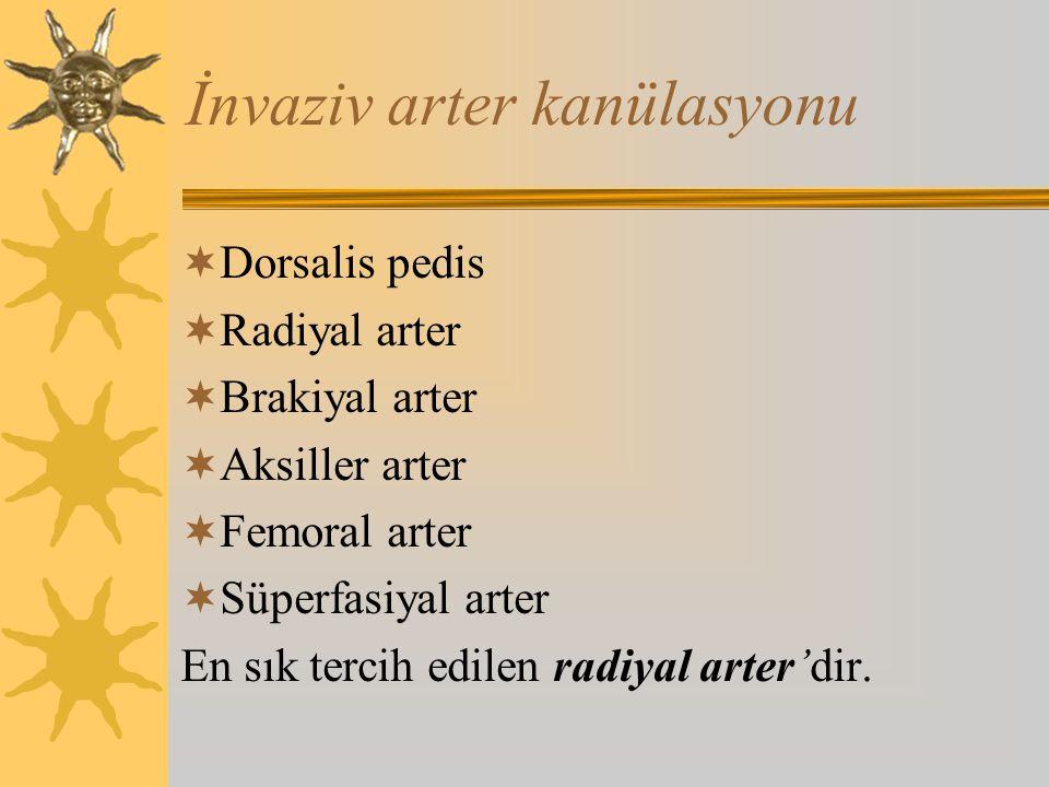 İnvaziv arter kanülasyonu