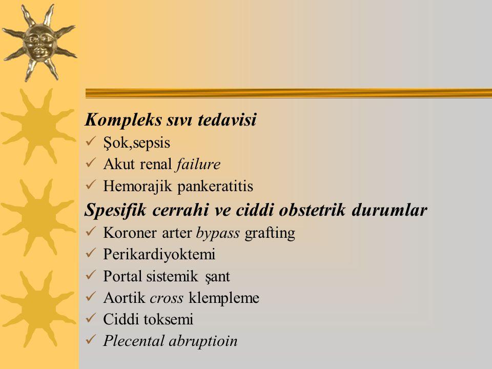 Kompleks sıvı tedavisi