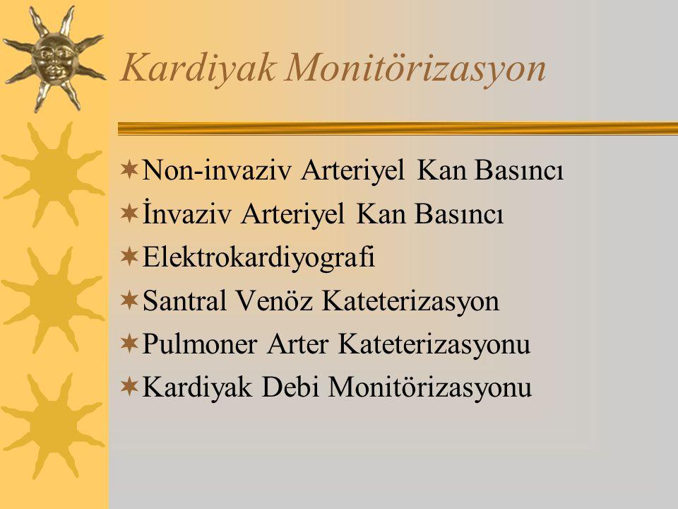 Kardiyak Monitörizasyon