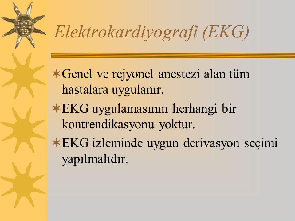 Elektrokardiyografi (EKG)