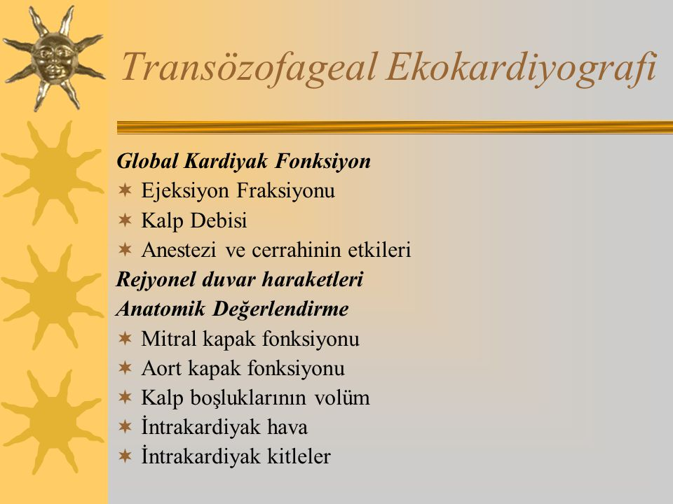 Transözofageal Ekokardiyografi