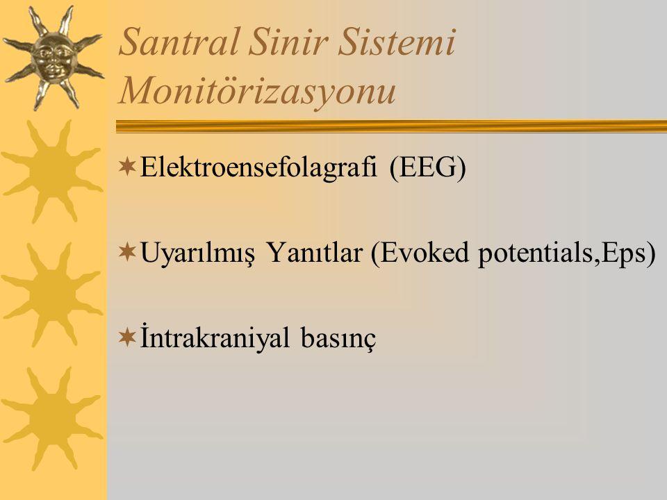 Santral Sinir Sistemi Monitörizasyonu