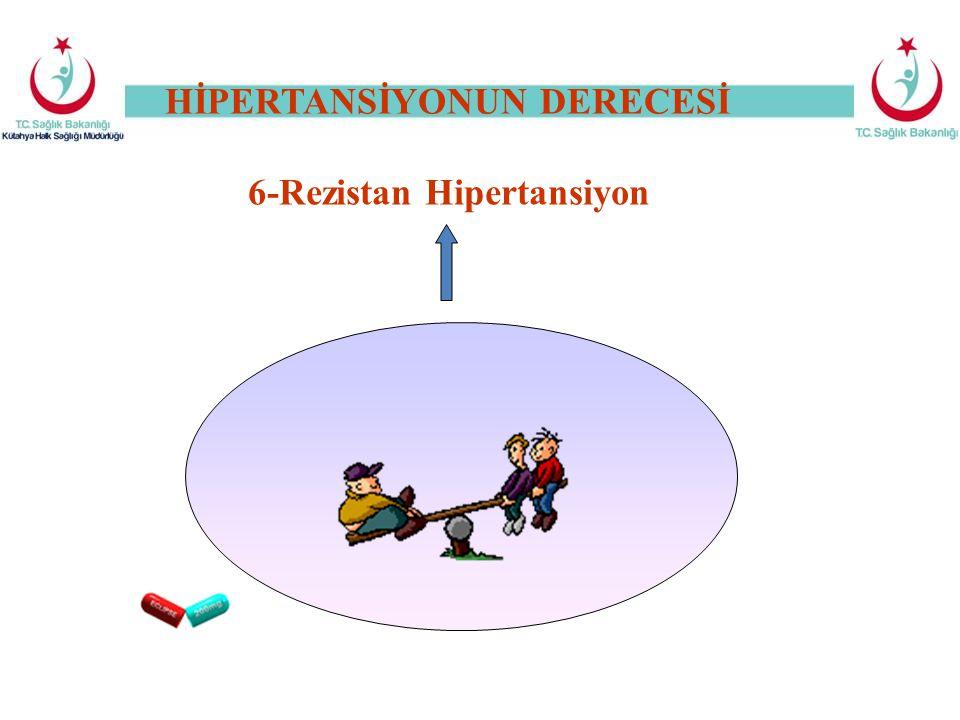 HİPERTANSİYONUN DERECESİ