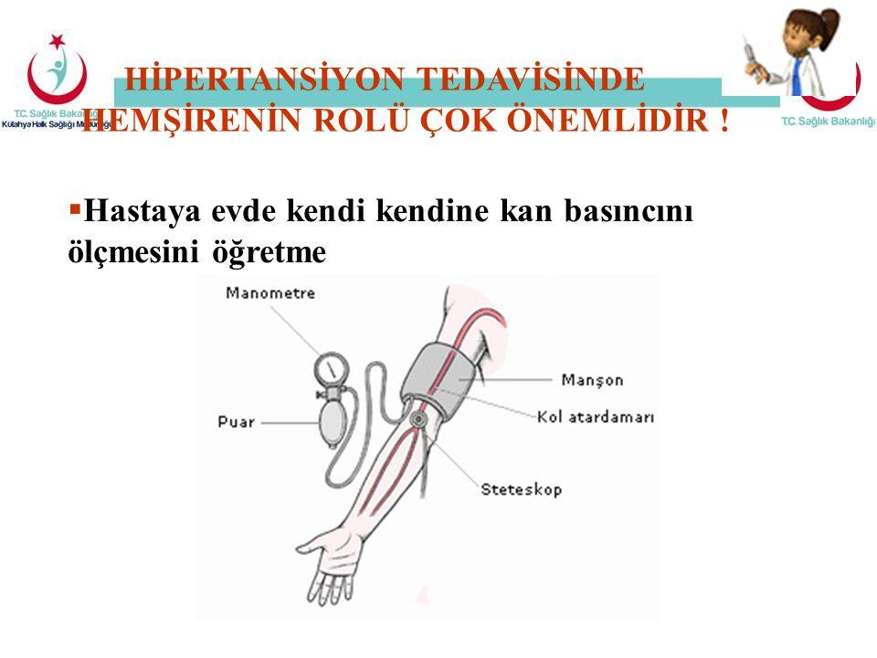 HİPERTANSİYON TEDAVİSİNDE