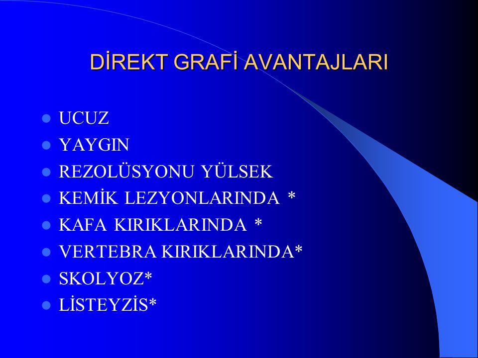DİREKT GRAFİ AVANTAJLARI