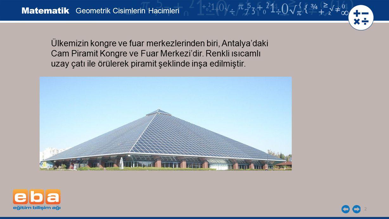 Ülkemizin kongre ve fuar merkezlerinden biri, Antalya'daki