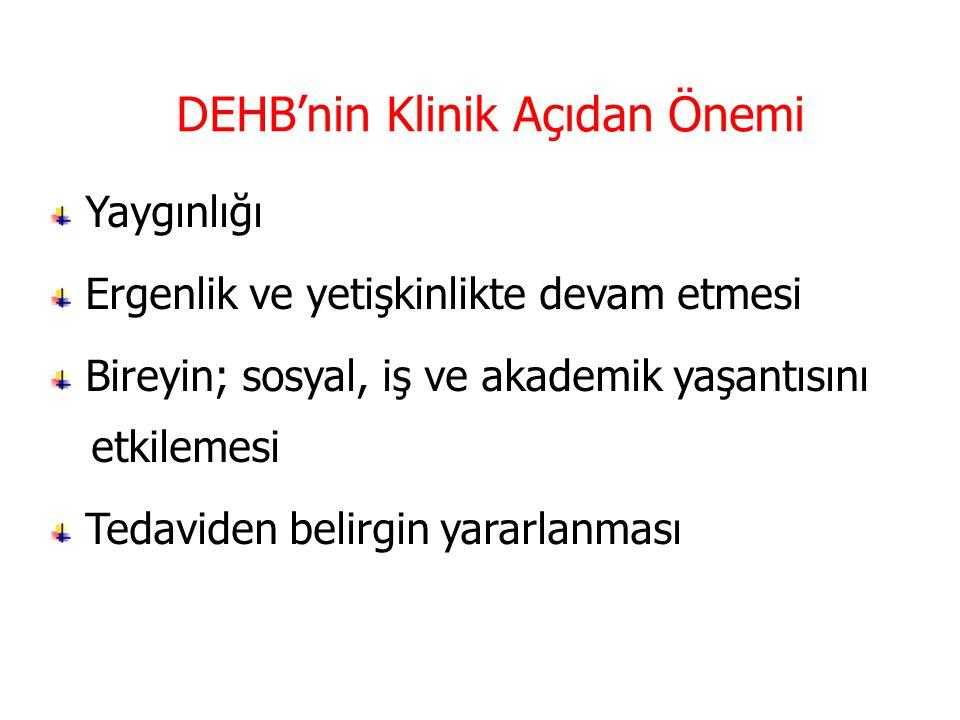 DEHB'nin Klinik Açıdan Önemi