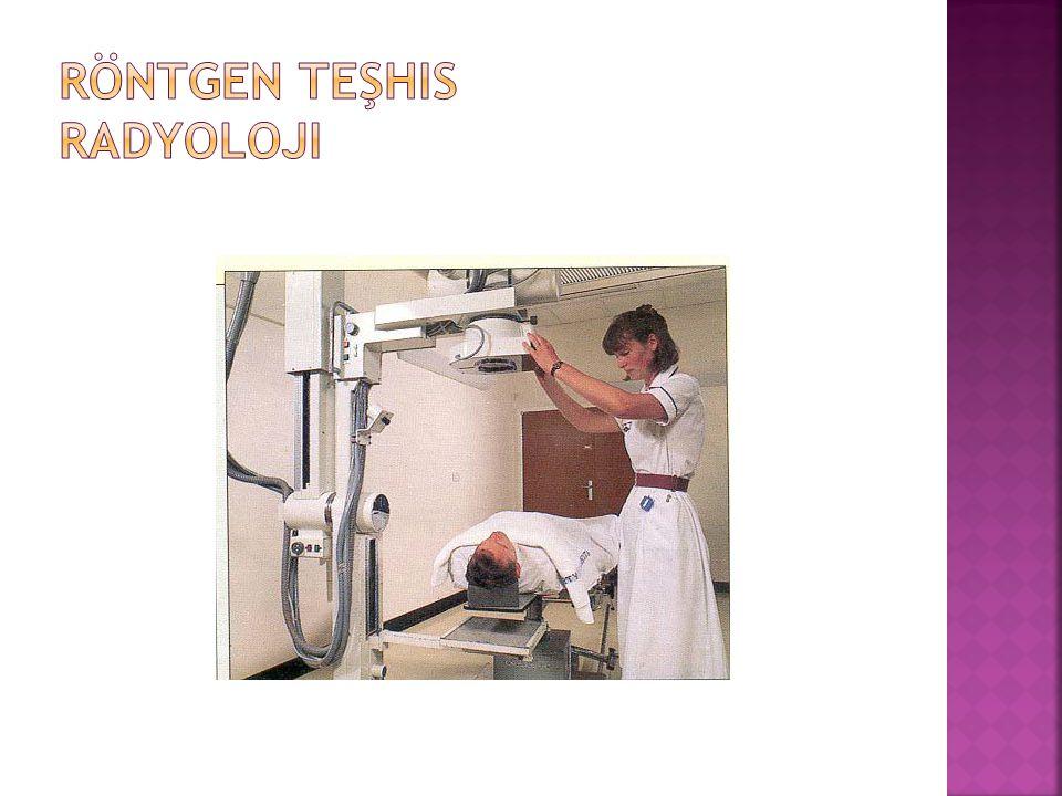 Röntgen teşhis Radyoloji