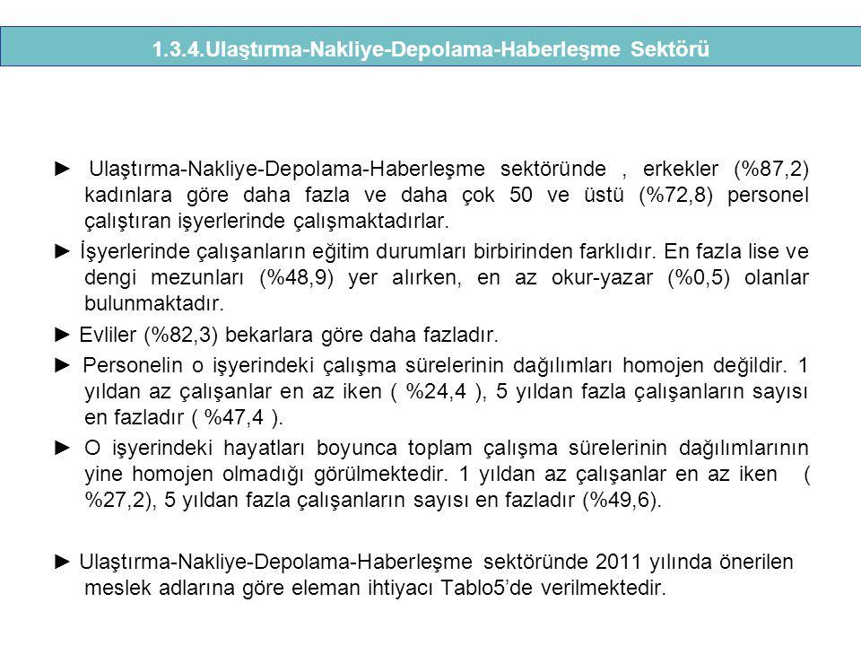 1.3.4.Ulaştırma-Nakliye-Depolama-Haberleşme Sektörü