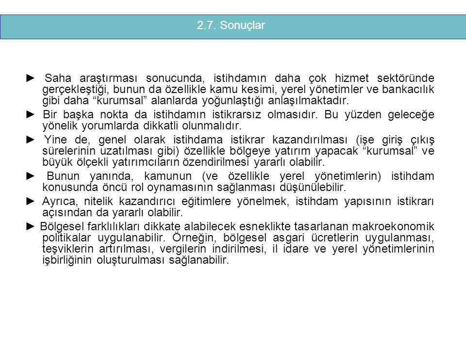 2.7. Sonuçlar
