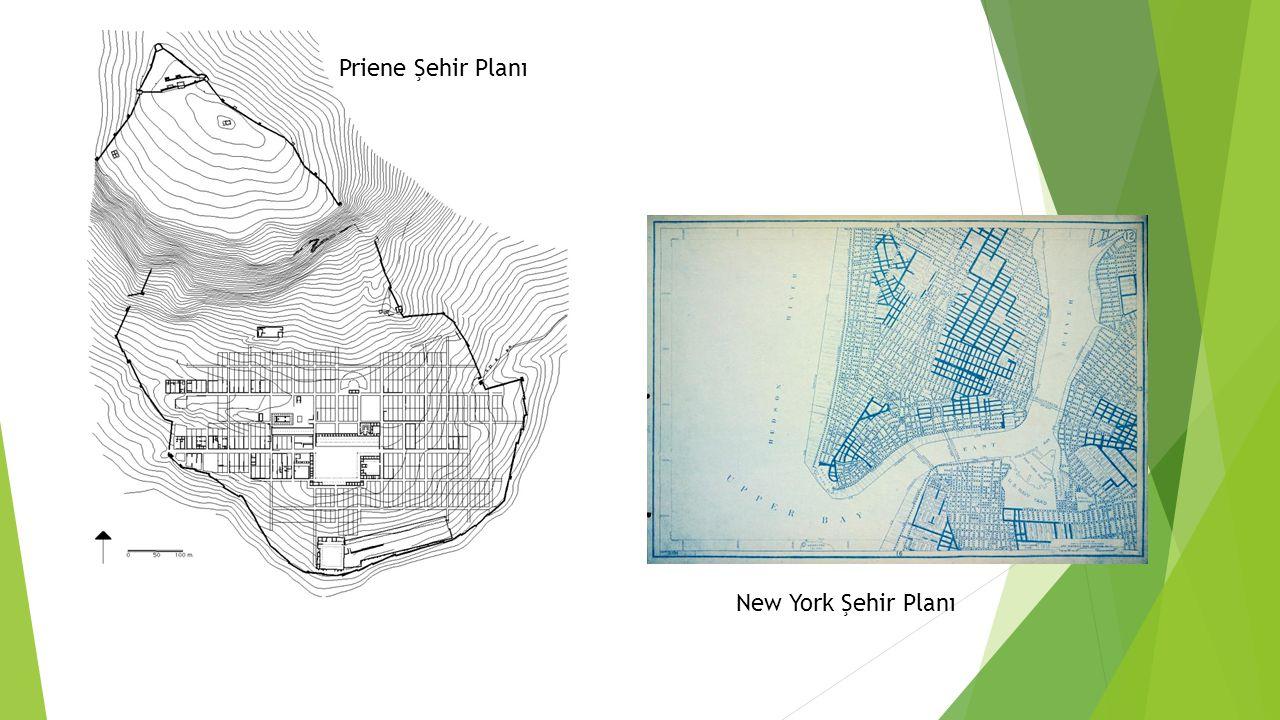 Priene Şehir Planı New York Şehir Planı