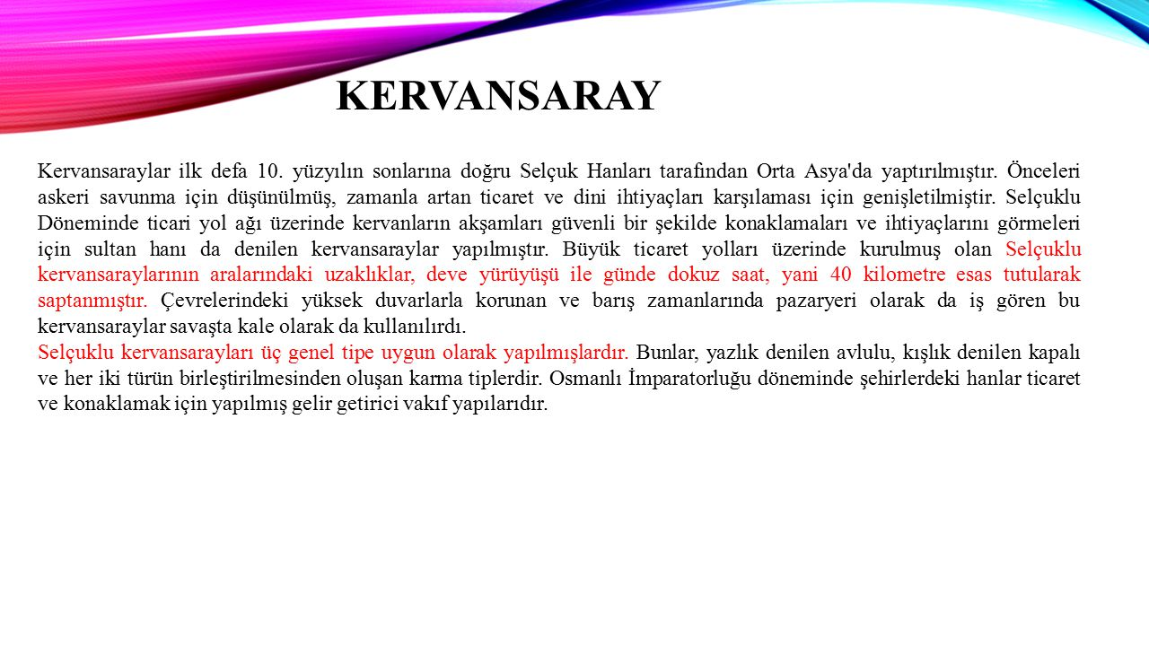 KERVANSARAY