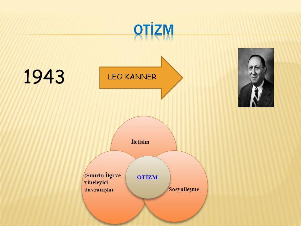 1943 Otİzm LEO KANNER İletişim