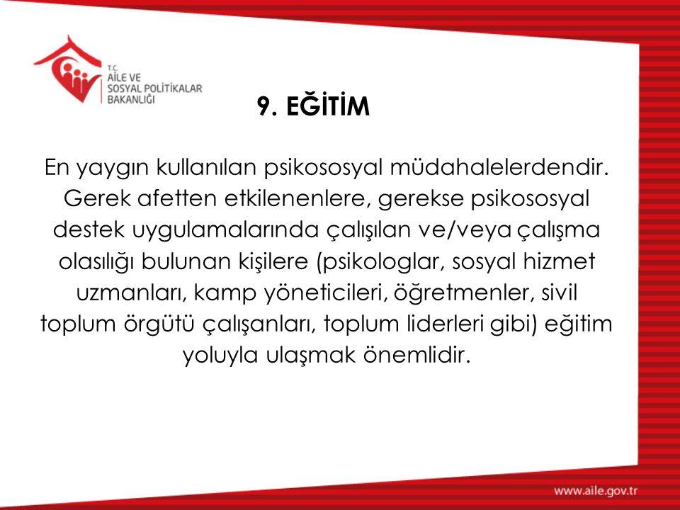 9. EĞİTİM
