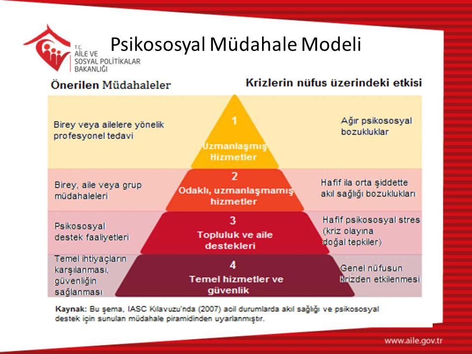 Psikososyal Müdahale Modeli