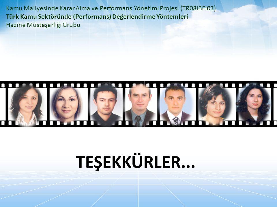 Kamu Maliyesinde Karar Alma ve Performans Yönetimi Projesi (TR08IBFI03)