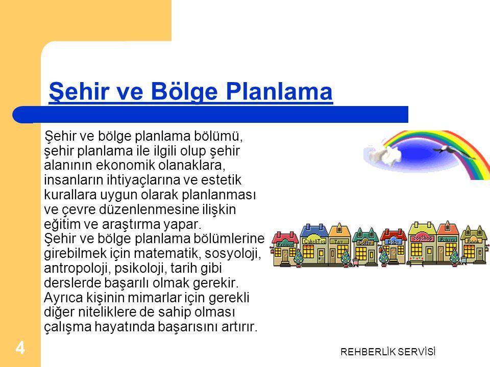 Şehir ve Bölge Planlama