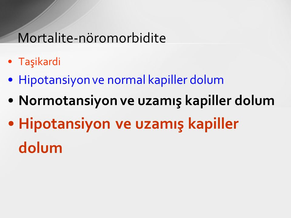 Mortalite-nöromorbidite