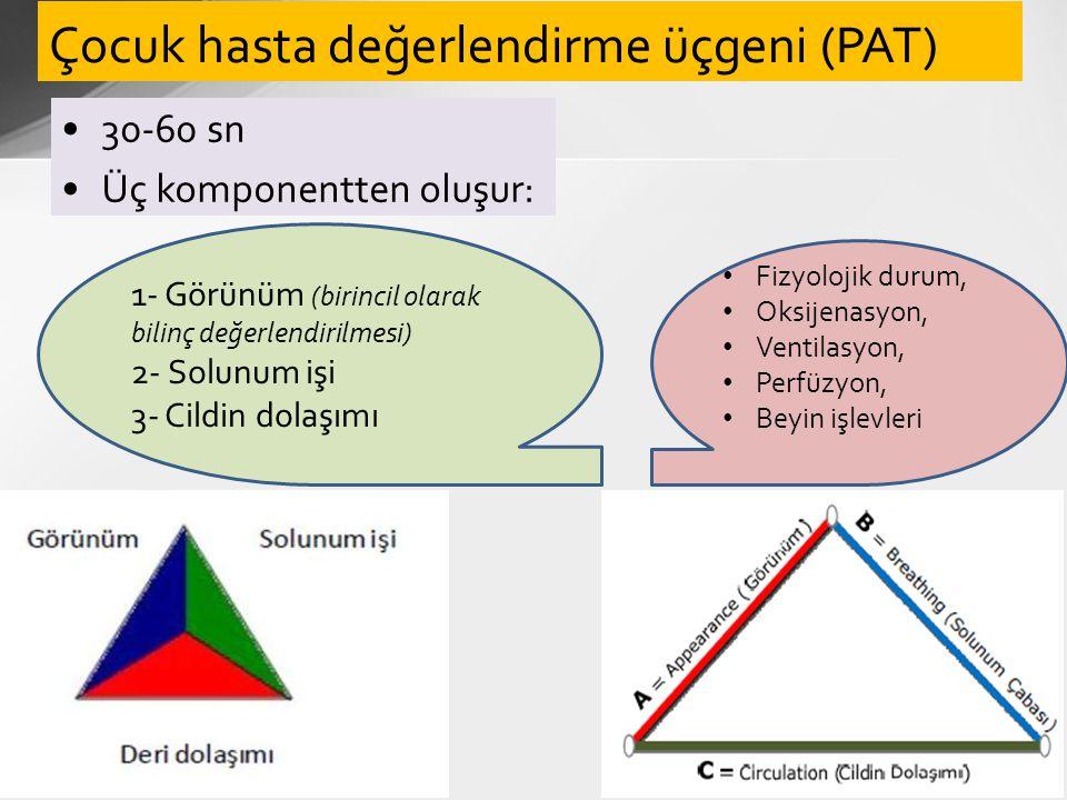 Çocuk hasta değerlendirme üçgeni (PAT)