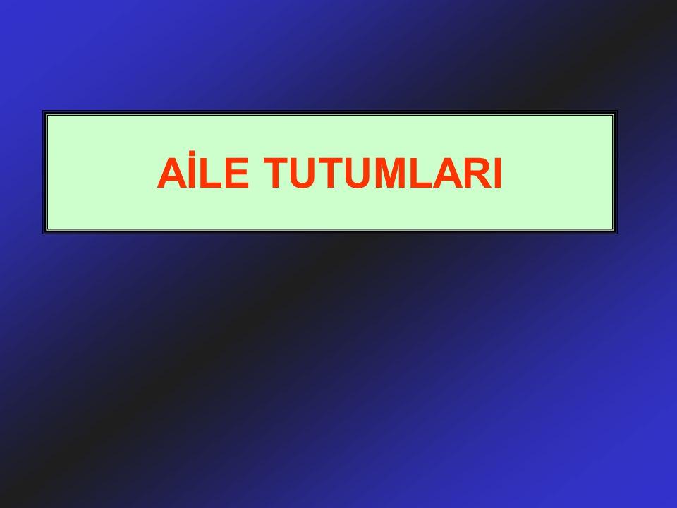 AİLE TUTUMLARI