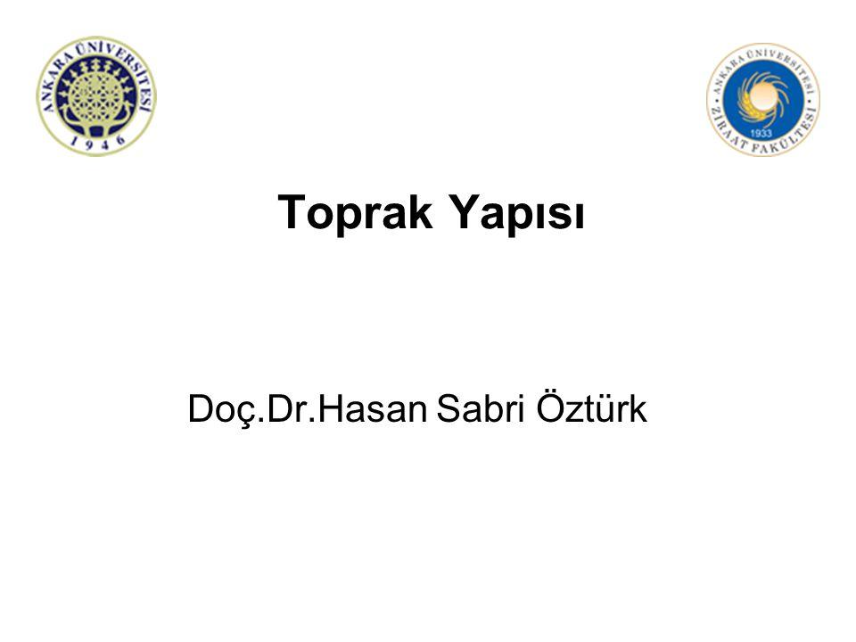 Doç.Dr.Hasan Sabri Öztürk